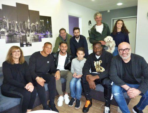 La Visita dei calciatori dell'Udinese calcio è Il desiderio del ragazzo