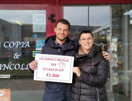 FCE Udine srl – Copia & Incolla contributo di 1000,00 Euro