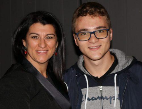 Gioia Meloni RAI3 intervista Matteo Trogu e Rita Di Rienzo