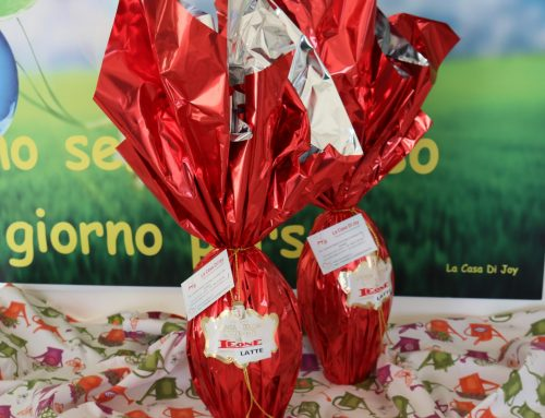 Le uova di cioccolato Joy sono magiche sanno rendere felici senza essere invadenti!